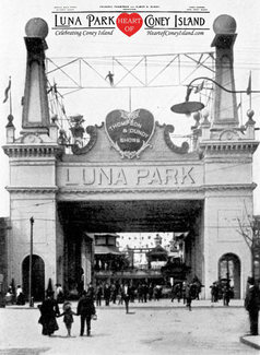 Luna Park Surf Avenue entrance