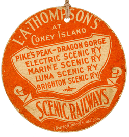 L.A. Thompson Scenic Railway, Coney Island