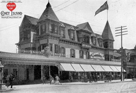 Photo of Albermarle Hotel, Coney Island, 1904