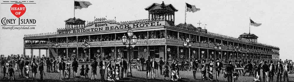 Bauer S West Brighton Beach Hotel Coney Island